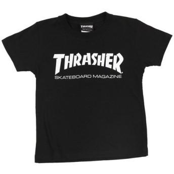 THRASHER ジュニア MAG ロゴ Tシャツ TH8101KB-HL (Jr)