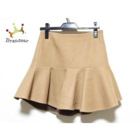ミューズデドゥーズィエムクラス ミニスカート サイズ36 S レディース 美品 ブラウン   スペシャル特価 20190814