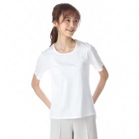 レディース 汗対策クルーネックTシャツ