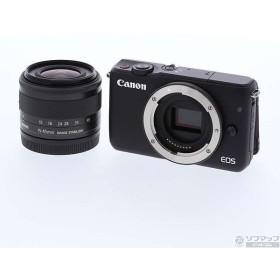 〔中古〕キヤノン(Canon) EOS M10 EF-M 15-45 レンズキット BK (1800万画素/ブラック/SDXC)〔05/22(水)新入荷〕