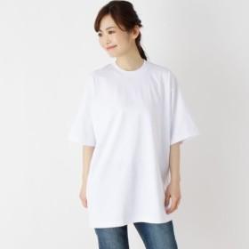 [マルイ]【セール】ドロップショルダーTシャツ/オペークドットクリップ(OPAQUE. CLIP)