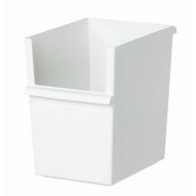 10%OFFクーポン対象商品 収納ボックス スリム深型 カラーボックス インナーボックス 収納 日本製 ホワイト【クーポンコード: PTSBARW】 クーポンコード:KZUZN2T