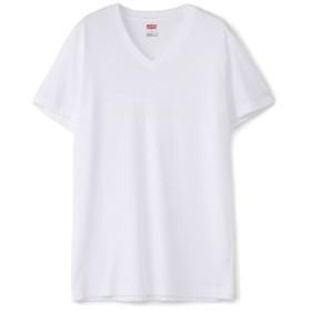 Levi's COOLMAXメッシュ VネックTシャツ メンズ ホワイト
