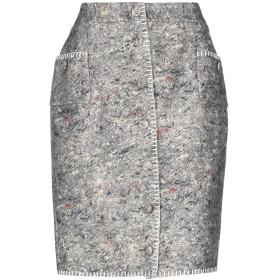 《期間限定 セール開催中》MOSCHINO レディース ひざ丈スカート グレー 40 バージンウール 80% / ナイロン 20%