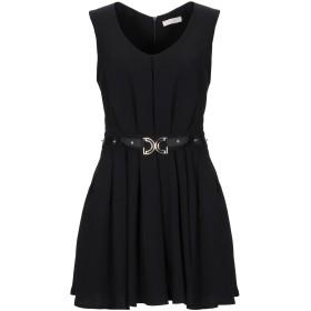 《セール開催中》MARY D'ALOIA レディース ミニワンピース&ドレス ブラック 46 ポリエステル 100%