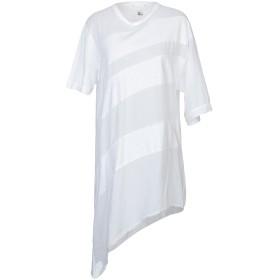 《期間限定セール開催中!》LOST & FOUND レディース T シャツ ホワイト S コットン 85% / 麻 15%