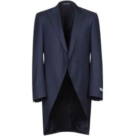 《期間限定 セール開催中》CANALI メンズ テーラードジャケット ダークブルー 54 ウール 100%