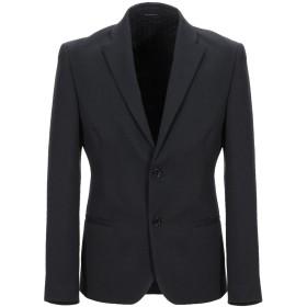 《セール開催中》DANIELE ALESSANDRINI メンズ テーラードジャケット ブラック 48 コットン 45% / ポリエステル 20% / ウール 20% / アクリル 10% / 指定外繊維 5%