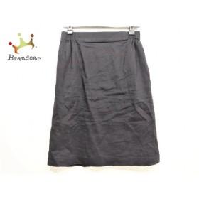 セオリーリュクス theory luxe スカート サイズ38 M レディース 美品 黒 ウエストゴム   スペシャル特価 20190825