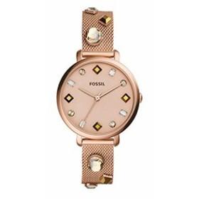 【当店1年保証】フォッシルFossil Women's Jacqueline - ES4473 Rose Gold One Size