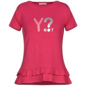 《期間限定 セール開催中》YNOT レディース T シャツ ガーネット XS レーヨン 95% / ポリウレタン 5%