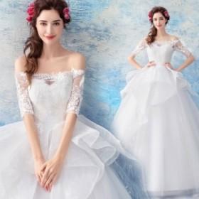 ウエディングドレス レディース ベアトップ ロングドレス 花嫁ドレス オシャレ 上品な ブライダルドレス 素敵な 写真撮影 ドレス 演奏会