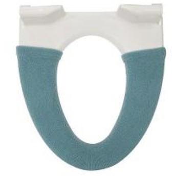トイレ便座カバー モダニスト 洗浄・暖房便座用 ターコイズ