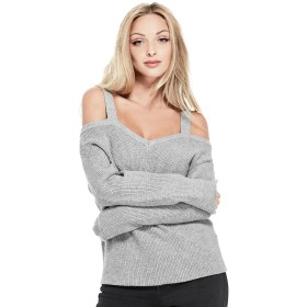 ニット・セーター - GUESS【WOMEN】 [GUESS] BRITTA COLD-SHOULDER SWEATER