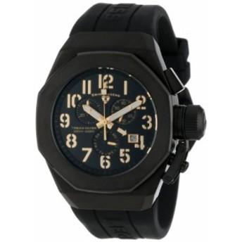 【当店1年保証】スイスレジェンドSwiss Legend Men's 10542-BB-01-GA Trimix Diver Chronograph Bla