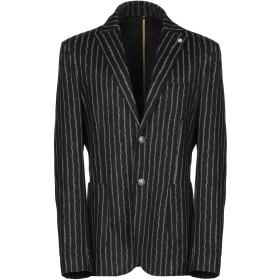 《期間限定セール開催中!》SSEINSE メンズ テーラードジャケット ブラック 44 ポリエステル 85% / レーヨン 10% / ポリウレタン 5%