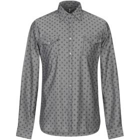 《セール開催中》6167 メンズ シャツ グレー 39 コットン 100%