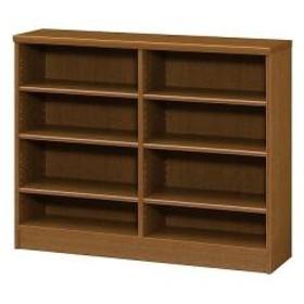 本棚 ブックシェルフ エースラック カラーラック 約幅117cm 約高さ89cm ブラウン