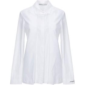 《期間限定 セール開催中》GENTRYPORTOFINO レディース シャツ ホワイト 40 コットン 97% / ポリウレタン 3%