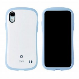 HAMEE [iPhone XR専用]iFace First Class Pastelケース 41-899144(ホワイト/ブルー)