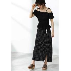 PROPORTION BODY DRESSING / プロポーションボディドレッシング  デシンドットマキシスカート