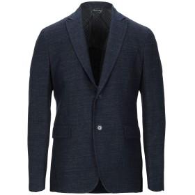 《送料無料》BRIAN DALES メンズ テーラードジャケット ダークブルー 46 ウール 33% / ポリエステル 30% / レーヨン 16% / ナイロン 13% / 指定外繊維 8%