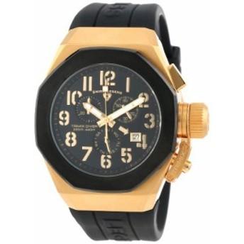 【当店1年保証】スイスレジェンドSwiss Legend Men's 10542-YG-01-BB Trimix Diver Chronograph Bla