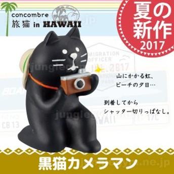 Decole concombre デコレ コンコンブル 黒猫カメラマン 夏 新作 旅猫 ねこ ネコ 雑貨 グッズ オブジ