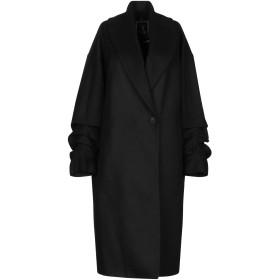 《期間限定セール開催中!》HANITA レディース コート ブラック 38 アクリル 50% / ポリエステル 25% / ウール 20% / 指定外繊維 5%