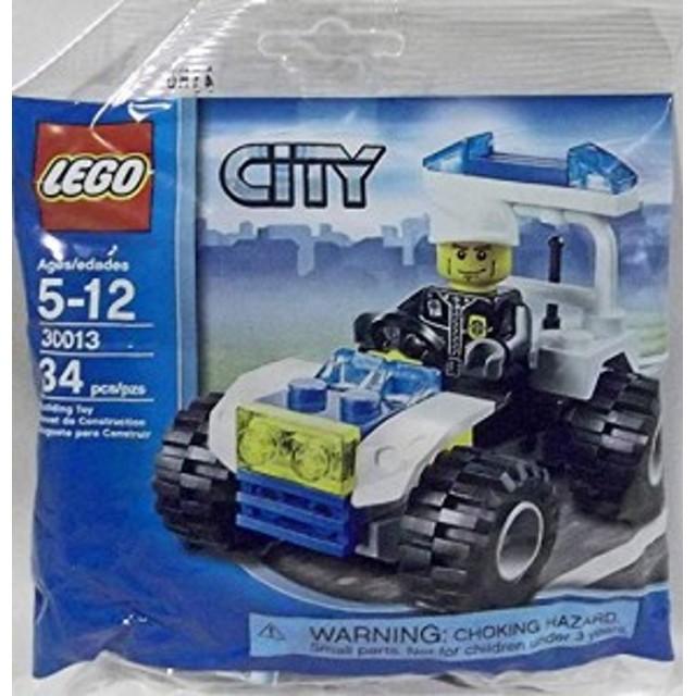 レゴLEGO City Mini Figure Set #30013 Police City Quad Bagged