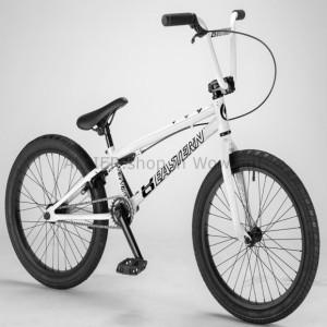 """Eastern 20/"""" BMX Lowdown Bicycle Freestyle Bike 3 Piece Crank White 2019 NEW"""