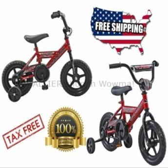 """BMX Mantis 12 """"in Boy Girlフリップサイドバイクレッドブラッククリスマス自転車プレゼントBMXタイヤ  M"""