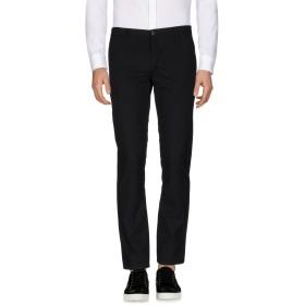 《送料無料》BASICON メンズ パンツ ブラック 50 ポリエステル 63% / レーヨン 34% / ポリウレタン 3%