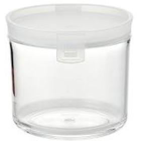 10%OFFクーポン対象商品 保存容器 アクリルキャニスター 円筒型 430ml クーポンコード:HHJ7YTC