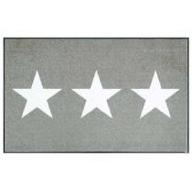 15%OFFクーポン対象商品 玄関マット ラグマット wash+dry ウォッシュアンドドライ Stars sand 屋内屋外兼用 75×120cm クーポンコード:CKJNNWW