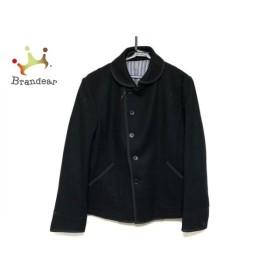 ムッシュニコル monsieur NICOLE コート サイズ50 メンズ 美品 黒 ショート丈/冬物 新着 20190522