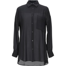 《期間限定 セール開催中》KAOS レディース シャツ ブラック 38 ポリエステル 100%