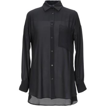 《セール開催中》KAOS レディース シャツ ブラック 38 ポリエステル 100%