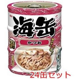 アイシア 海缶ミニかつお 60g×3缶パック×24セット