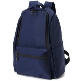 バッグ カバン 鞄 レディース リュック 止水テープ使いナイロンリュック カラー 「ネイビー」