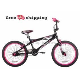 "BMX 20 ""BMXフラットランドフリースタイルトリックバイクw /フロントバックペグガールキッズスタント自転車  20"" BM"