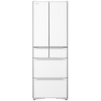 R-XG43K 冷蔵庫 クリスタルホワイト [6ドア /観音開きタイプ /430]