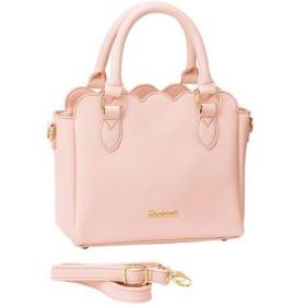 20%OFFスカラップ2WAYショルダーバッグ - セシール ■カラー:ピンク