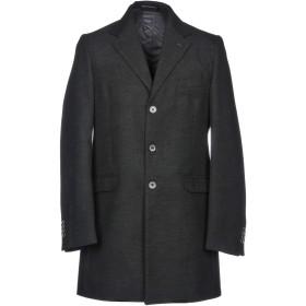 《期間限定セール開催中!》DE BOTTIS Sartoria Italiana メンズ コート スチールグレー 48 ポリエステル 50% / ウール 26% / レーヨン 24%