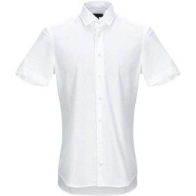 《送料無料》BALDESSARINI メンズ シャツ ホワイト 40 コットン 100%