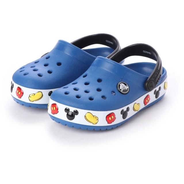 クロックス crocs 204992 クロックバンドミッキー キッズ (ブルージーン)