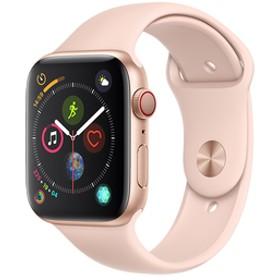 AppleApple Watch Series 4(GPS + Cellularモデル)- 44mmゴールドアルミニウムケースとピンクサンドスポーツバンドMTVW2J/A
