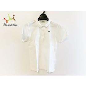 ラコステ Lacoste 半袖ポロシャツ サイズ38 M レディース 白   スペシャル特価 20190903