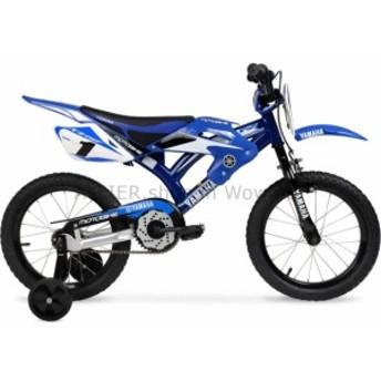BMX 16インチヤマハモトバイク、キッズBMX自転車、ブルー、ボーイズ  16 Inch Yamaha Moto Bike, K