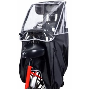 自転車レインカバー チャイルドシートレインカバー 子供乗せ用 後ろ 撥水加工 収納バッグ付